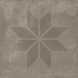 VT Wonen Solostone Decoren Earth Star Grey 70x70