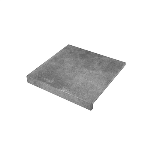 Solido Ceramica keramiek Randtegel Cemento Smoke 60x60x3 R