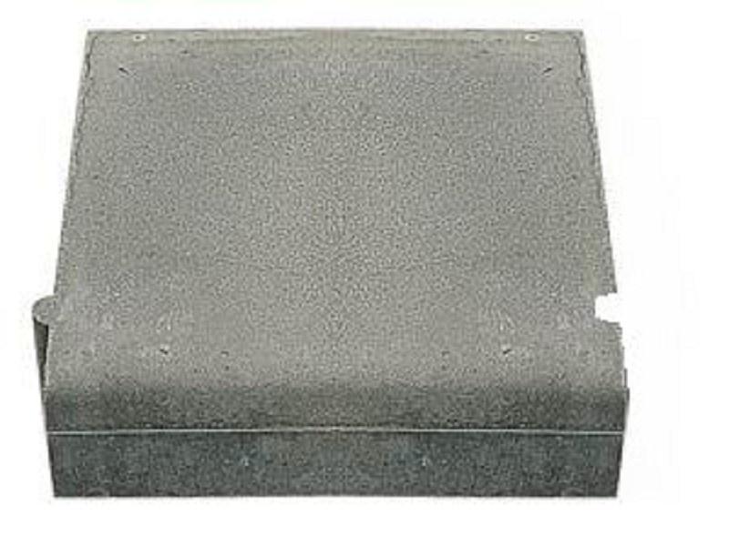 Inritband 10/20x45x50cm midden grijs