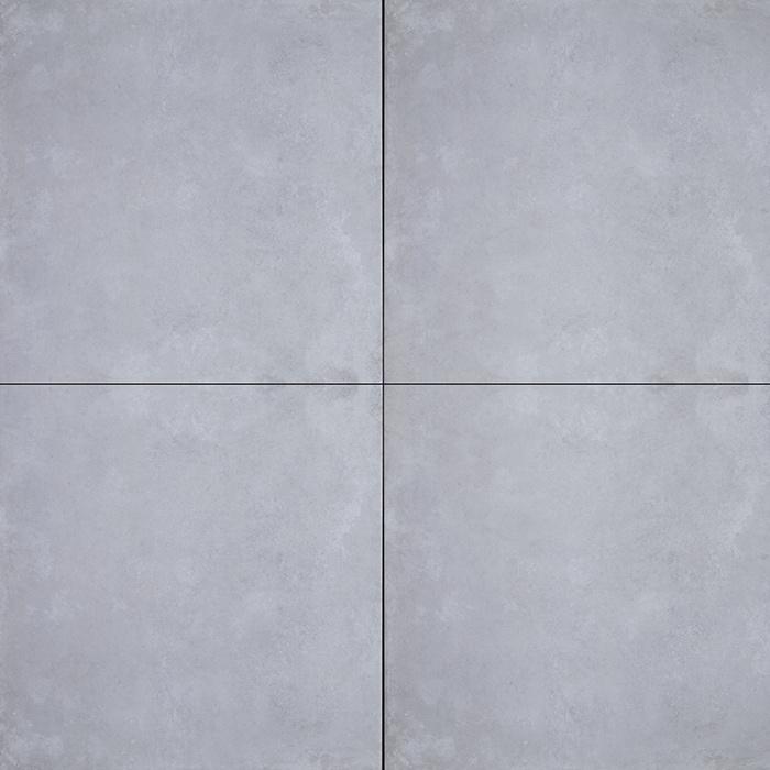 Betontegel 80x80 Prijs.Geoceramica 80x80 Concreet Silver Tegel