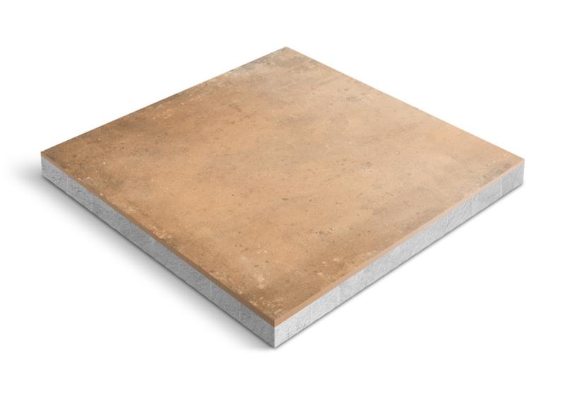 CeraDeco keramiek op beton Acustico Cotto 60x60