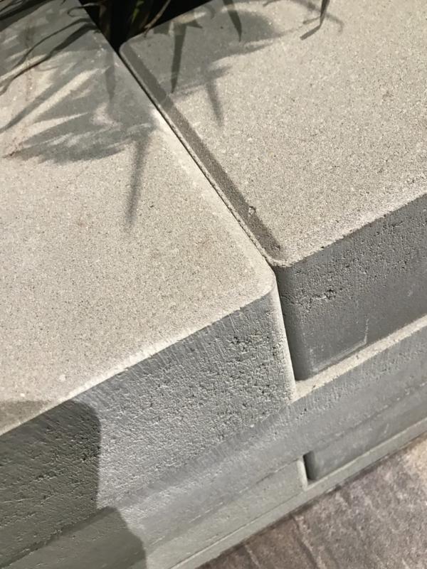 Multistone Gris 65x20x12 cm Gris