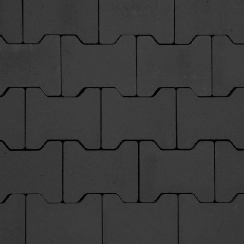 Fonkelnieuw H profielstenen antraciet zonder facet | Goedkope H-klinkers kopen BV-94