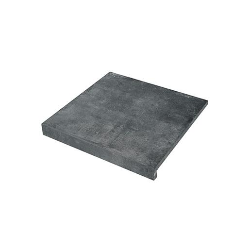 Solido Ceramica keramiek Randtegel Cemento Black 60x60x3 R