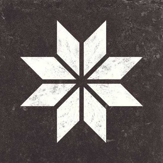 VT Wonen Solostone Decoren Belgian Stone Star White 70x70