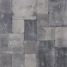 Abbeystones getrommeld wildverband grijs zwart