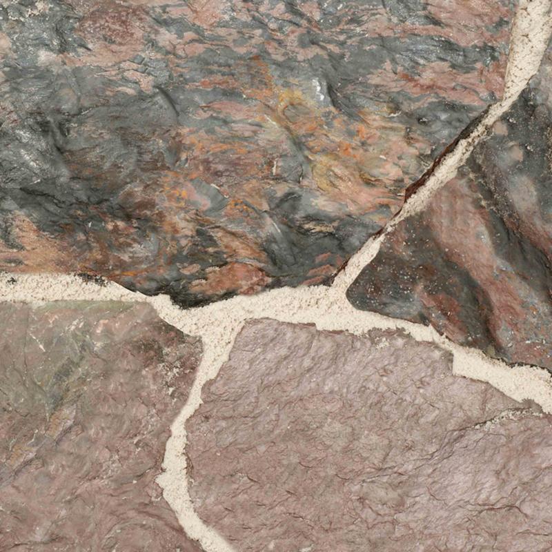 Flagstone tegel Violetta 3 - 7 cm