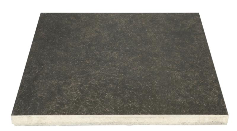 Kera Twice 60x60x4 black tegel