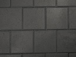 Dubbelklinker 8 cm zwart