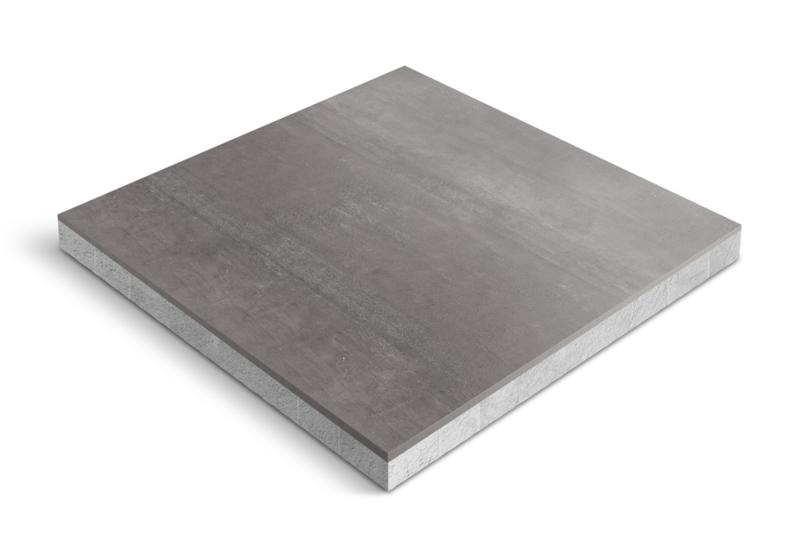 CeraDeco keramiek op beton Gesso Black 60x60