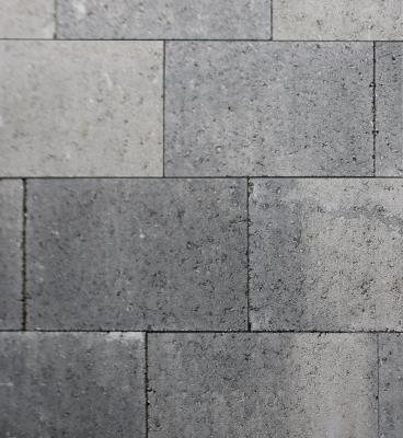 Metro Vlaksteen 20x30x6 Grijs/Zwart