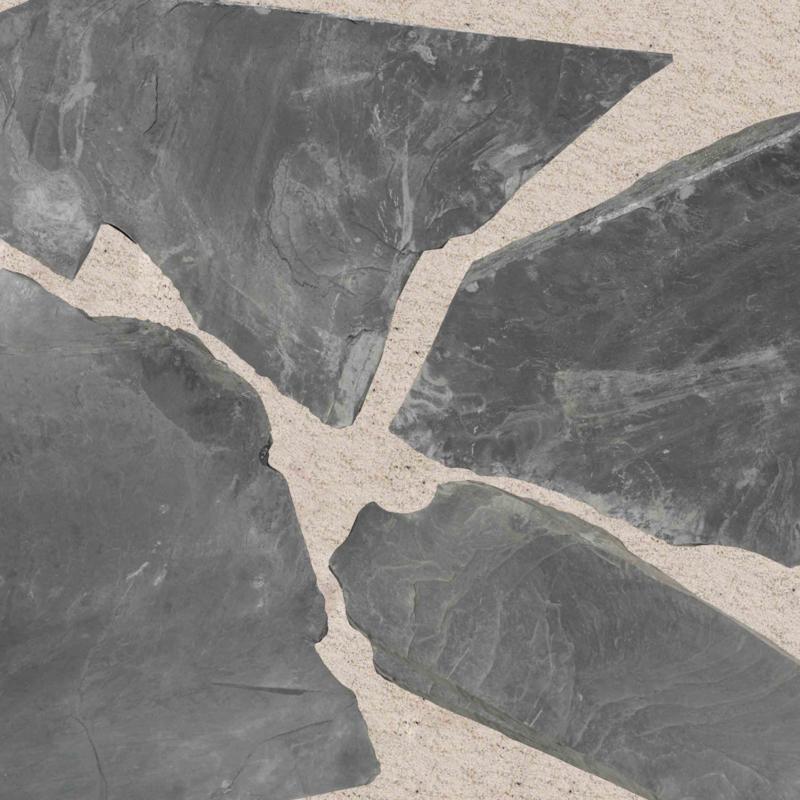Flagstones Ultra Black 30-40 mm