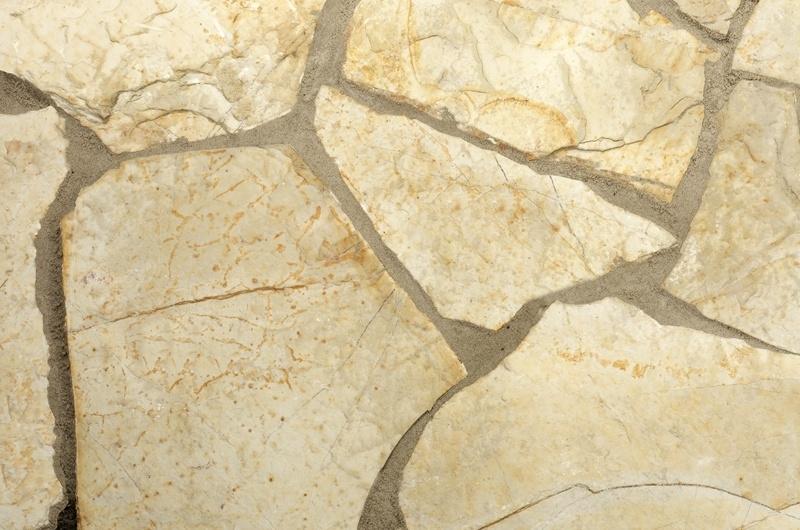 Flagstone Geel Bourgogne 2 - 4 cm