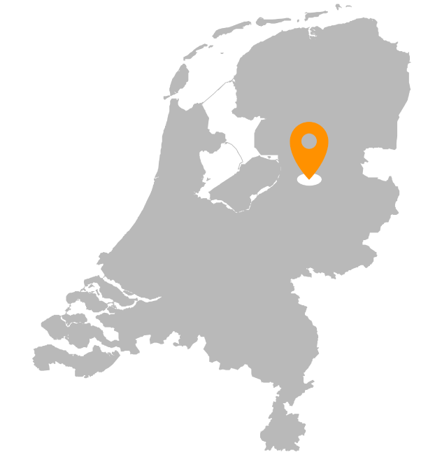 Locatie Bestratingsmarkt.com Nederland Heerde