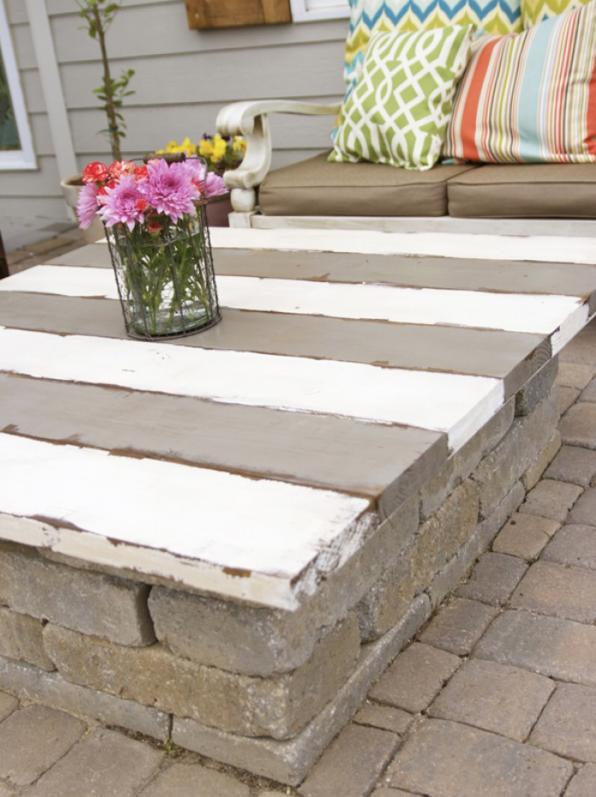 Abbeystone tuin tafel voorkorf