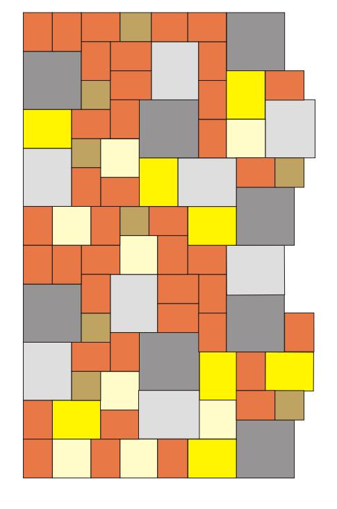 Tremico Tuinvisie leg patroon