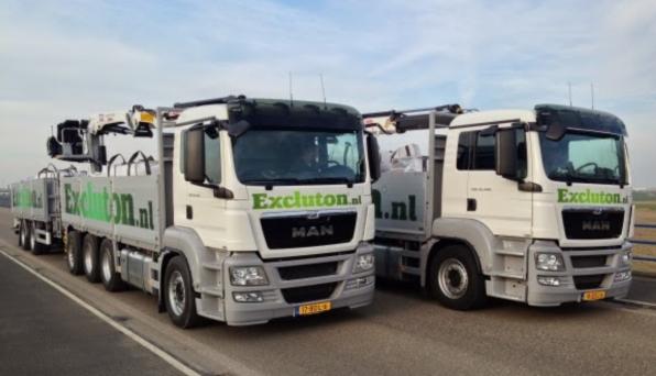 Vrachtwagen Bestratingsmarkt.com Excluton