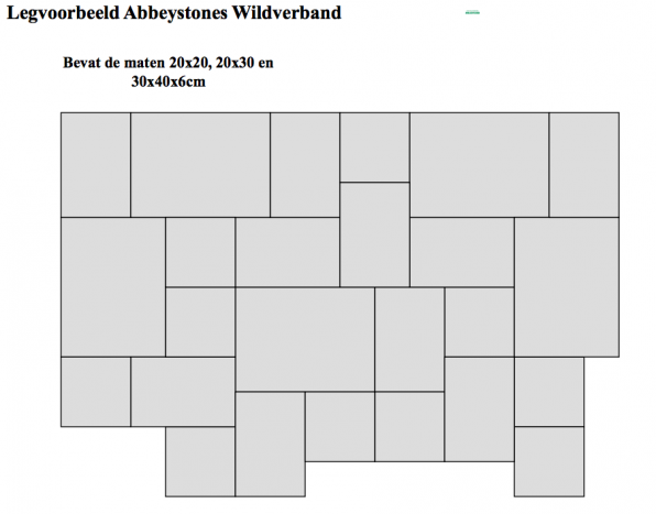 legverband Abbeystone wildverband