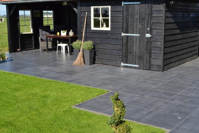 soft finish tegel 60x60 zwart nebla