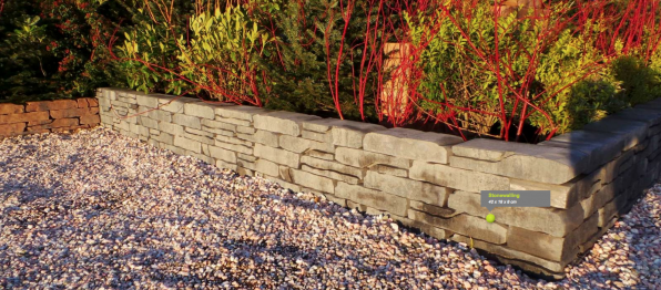 stone walling Excluton