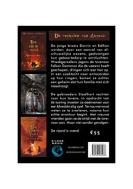 """Trilogie Sebastiaan Koen """"De verhalen van Auruco"""" (Een rijk in verval, Een koninklijk verraad en Een ijzeren vuist)"""