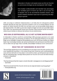 Lilith trilogie - deel 1 - GEBONDEN IN DUISTER  -  Kim ten Tusscher