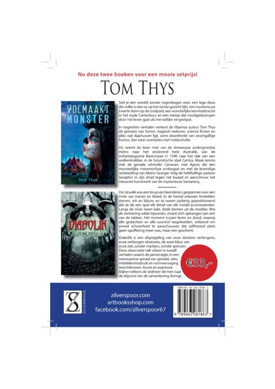 """Setprijs """"Volmaakt monster"""" en """"Diabolik"""" van Tom Thys"""