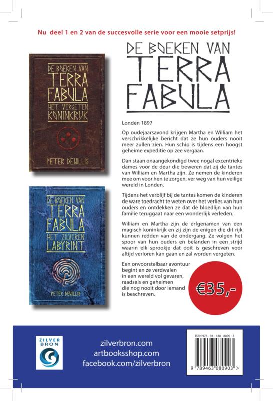 Terra Fabula - setprijs - deel 1 en 2 van Peter deWillis