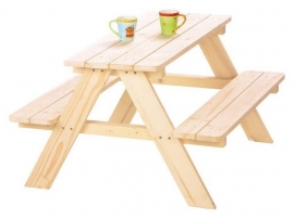 Picknicktafel Nicky voor 4