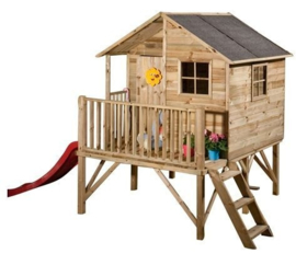 Prixma houten speelhuis Brussel