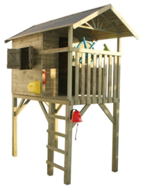 Prestige garden houten speelhuis Treehut
