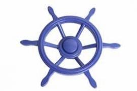Piraten stuurwiel blauw