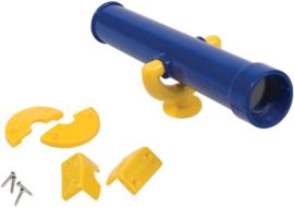 Piraten telescoop blauw/geel
