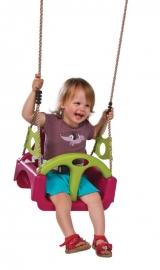 Babyschommel Trix Paars/groen