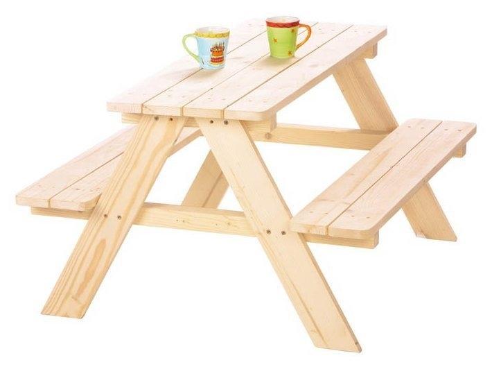 Picknicktafel Nicky voor 4