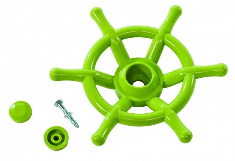 Piraten stuurwiel limoen groen