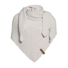Knit Factory - Omslagdoek Beige