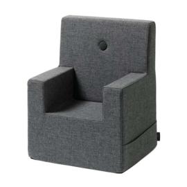 By KlipKlap - KK Kinderfauteuil / stoeltje XL (2-6 jaar) Blue Grey