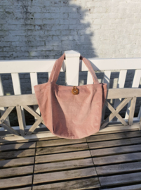Rabbit & Rose - Mombag Corduroy Pink