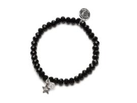Proud MaMa - Charm armbandje Zwart