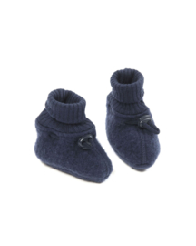 Smallstuff - Slofjes wol Donkerblauw