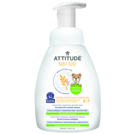 ATTITUDE - Soothing Hair and Body Foaming Wash (Sensitive Skin)