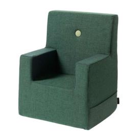 By KlipKlap - KK Kinderfauteuil / stoeltje XL (2-6 jaar) Green