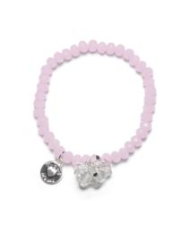 Proud MaMa - Charm armbandje Roze