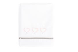Mats & Merthe - Ledikantlaken Enchanted Hearts Roze