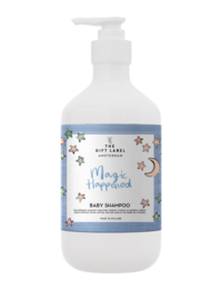 The Gift Label -Baby shampoo Magic Happend