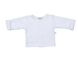 Mats & Merthe - Vestje met zakken wit