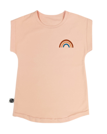 Just Juul - Sweaterdress Light Salmon