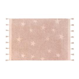 Lorena Canals - Vloerkleed Hippie Stars (120x175 cm nude)