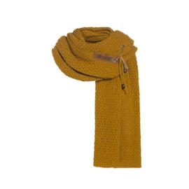 Knit Factory - Sjaal Luna Oker